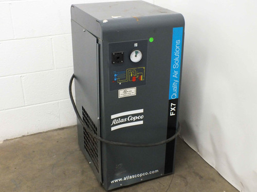 Atlas Copco FX7 A6 Refrigerated Air Dryer 115V - Broken Power Switch - As Is
