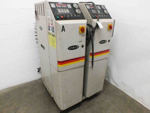 Sterl-Tronic M2B2012-C Pair of 9kW Sterlco Temperature Controllers 460VAC 3-Ph