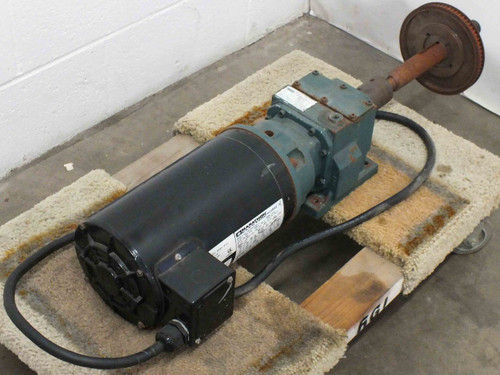 Dodge HB382CN140TC Quantis Motorized Indexing Drive Gearmotor 230/460 VAC -