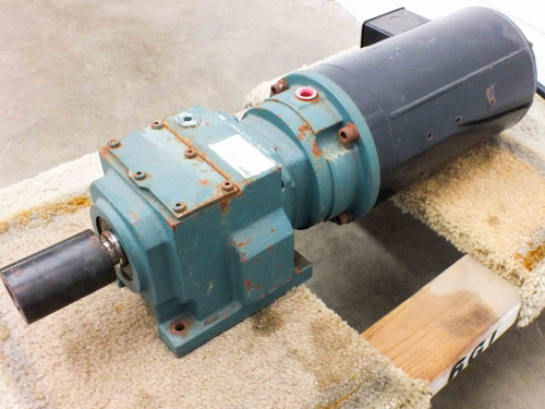 Dodge Quantis HB382CN140TC Gearmotor Motorized Indexing Drive 24.5:1 Ratio