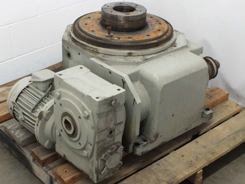 Heavy Duty Indexing Drive Table 25.180.1SRBH2 with Motor - 1280 LBS - AS IS