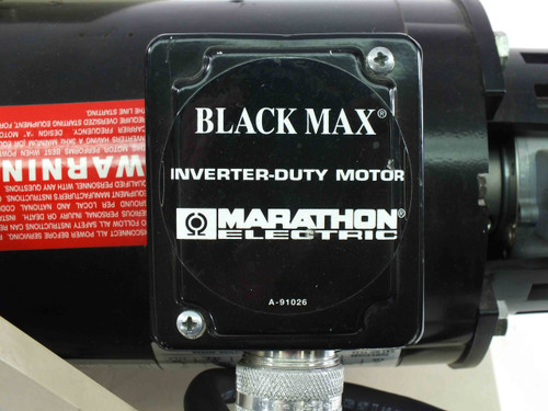 Marathon 56H17T5301BP BLACK MAX Inverter Duty Motor 1/2HP 230/460 w/ Encoder FVM