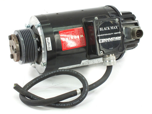 Marathon 56H17T5301BP BLACK MAX Inverter Duty Motor 1/2HP 230/460 w/ Encoder FVM