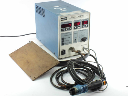 Hughes HCD-125 Programmable Capacitor Discharge Welder Power Supply with Head