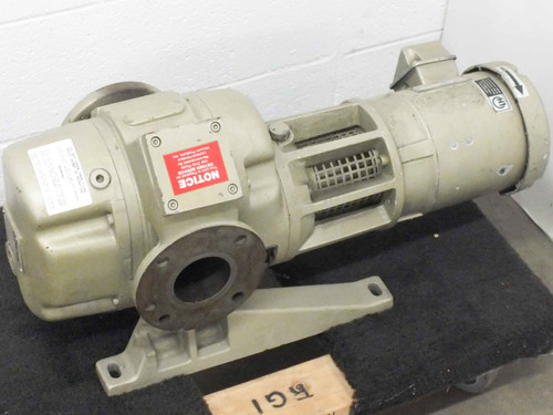 Leybold Heraeus RUVAC WAU150 Roots Blower Booster Vacuum Pump - As Is