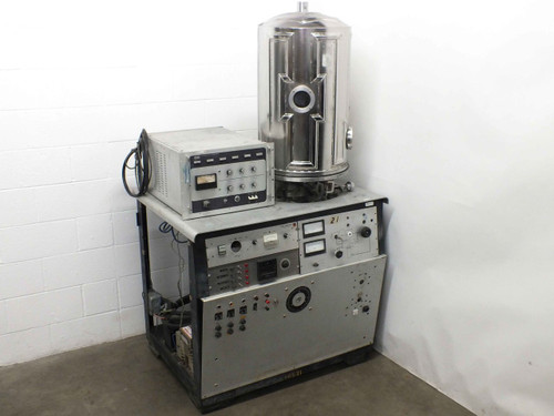 CHA SE-600-RAM Vacuum Chamber w/ Stainless Steel Bell Jar - As Is