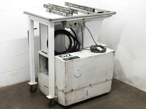 "Conair Martin LP-330 Plastic Granulator Shredder 480VAC 3x5 Blade 1/4"" Screen"