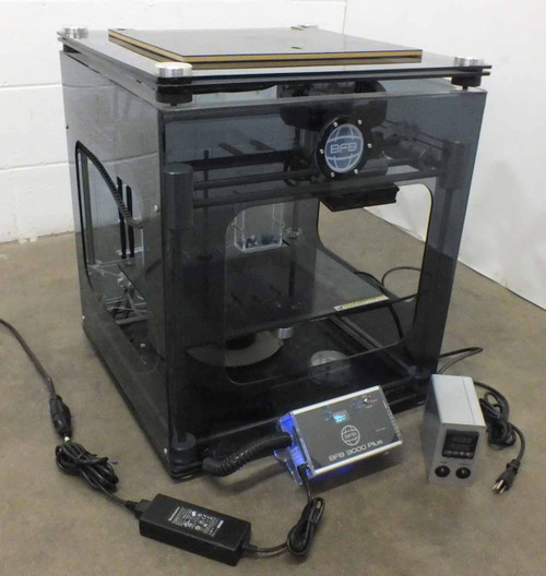 3D Systems BFB 3000 Plus 3D Printer with Operations Manual - Prints from SD Card