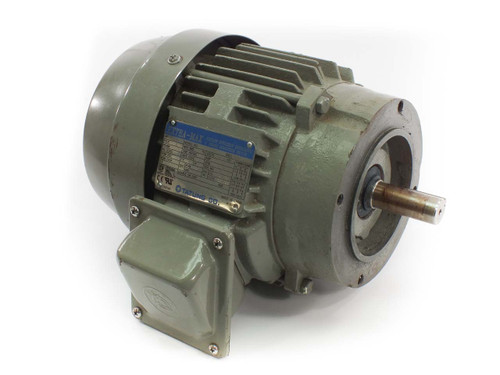 Tatung Extra-Max .75 HP Energy Efficient 3 Phase Induction Motor - TEFC