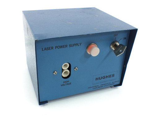 Hughes 3599H Laser Power Supply with ON/OFF Key - 115 VAC - Tested GOOD - w/ Key