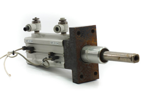 SMC MK2B50L-70-DCK7869K Heavy Duty Rotary Clamp Cylinder