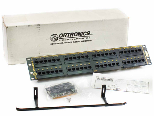 Ortronics OR-851044973 48-port Patch Panel Cat5e with Wire Management