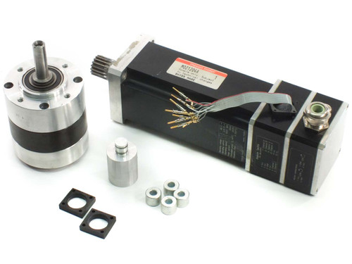 Maxon M021204A 48V DC Servo Motor 1020 RPM Shaft: 10mm D x 40mm L