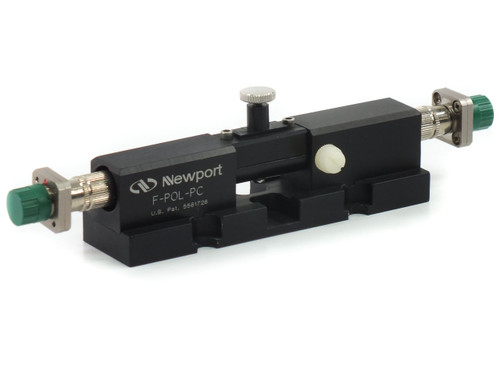 Newport F-POL-PC Fiber Polarization Controller, Male FC/PC Bulkhead Connectors