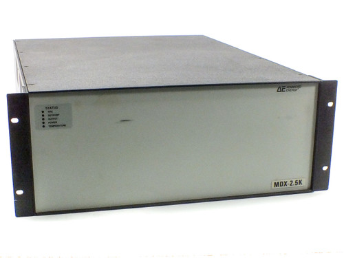 Advanced Energy MDX-2.5K DC Sputtering Power Supply 2224-006-B Output 500-1800V