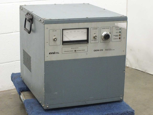 ENI Power Systems OEM-25 Solid State RF Plasma Power Generator 208 VAC 3-Phase