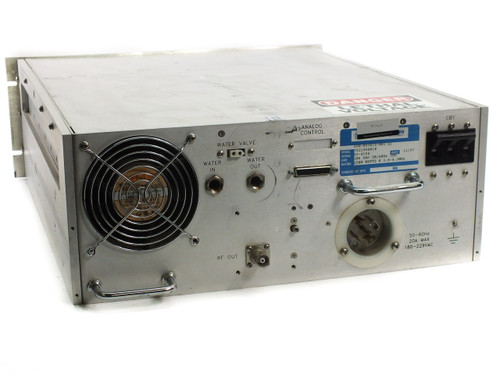 RFPP RF25M RF Power Supply - 2500 Watts 3.8-4.2 MHz PN: 7521968010