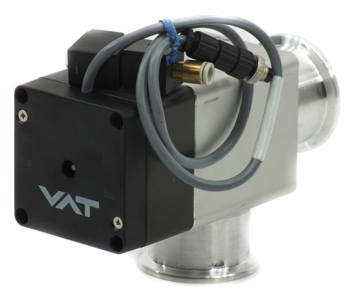 VAT 26432-KA41-0001 Angle Valve ISO-KF40 Flanges 1x10-8 mbar to 5 bar Absolute