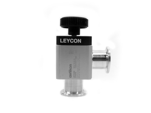 Oerlikon Leybold 215376 Right Angle Straight-Through Valve K25 (VAT 26528-KA01)