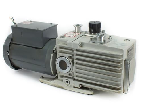 Leybold D16A TRIVAC 3/4 HP Vacuum Pump - 115/208 Volt AC Phase-1 9.4/4.8 Amp