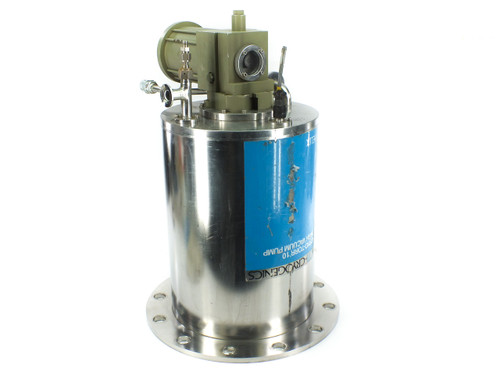 "CTI-Cryogenics CRYO-TORR 10 10"" Cryo Vacuum Pump with Exhaust KF25 - PN 8018182"