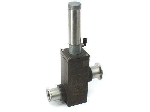 Key High Vacuum Products BL162 Brass Pneumatic Valve 1-5/8 Inch Socket
