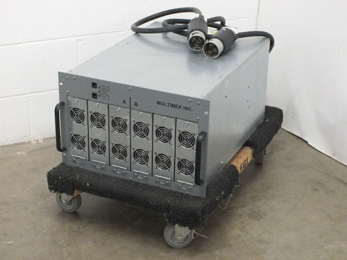 Multimek CS-9975-12 16KW 50VDC Power Supply Includes 6 Qty Mean Well RSP-3000-48