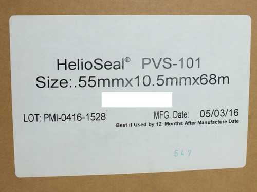 Royal PVS-101 HelioSeal Solar Panel Bonding Sealant 55mm x 10.5mm x 68m