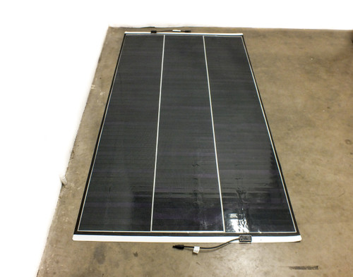Solopower SP3L-220 220 Watt Solar Panel 7' Battery Charging RV Boat Camping