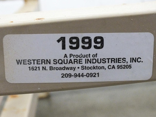Western Square Industries Double Bar Wine Beer Whisky Spirits Barrel Rack