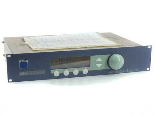 Trumpf Huttinger 0372600 MOP 2 Channel Master Oscillator 13.56MHz RF Deposition