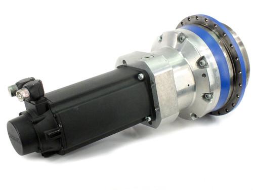 Rexroth MSK061C-0200-NN-S2-UG0-RNNN Servo Motor w/ Wittenstein Alpha Gearbox