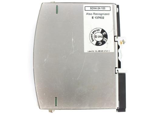 Sola SDN 4-24-100 DIN Rail Power Supply 115/230VAC 24VDC 4A