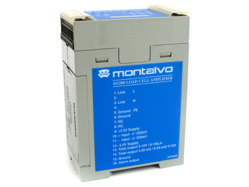 Montalvo M3200 Load Cell Amplifier 11506053 115/230 VAC