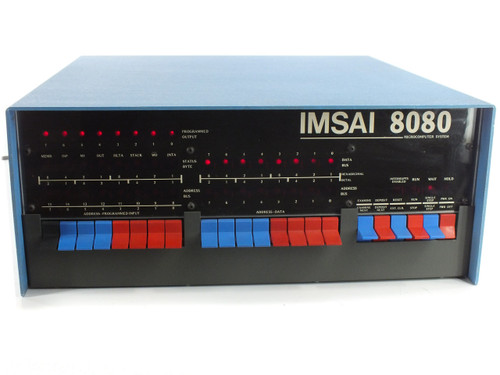 "IMSAI 8080 Microcomputer System with Manuals and 2 Siemens FDD 100-8D 8"" Floppy Drives"
