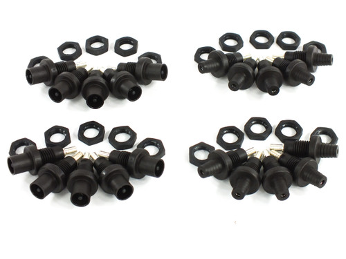 Multi-Contact PV-ADBP MC3 Panel Mount Connectors - Lot of 10 Male/Female Pairs