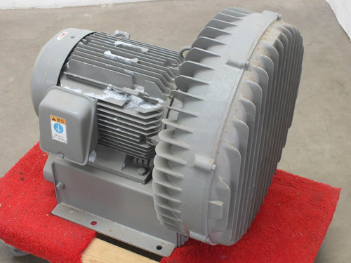 Hitachi VB-080-E2 12 HP Oil-Less Vortex Blower 513 CFM 9 KW 230-460V 3 Phase
