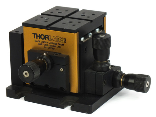 Thorlabs MDE330TH XYZ 3-Axis Optical Table Positioning Flexure Stage - Thor Labs