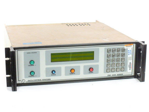 DCS PSK-2200-10 Data-Control Systems with GFD-2207, BSU-2202 & PSK-2201 - As Is
