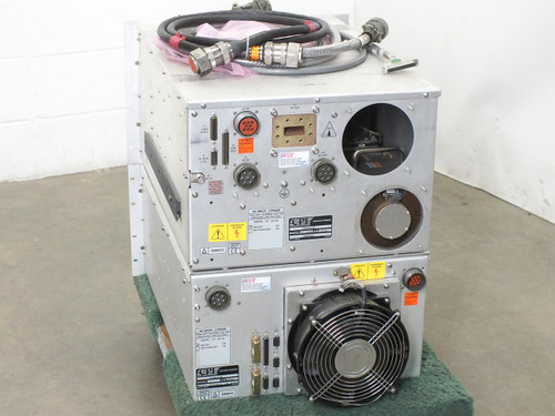 CPI VZC-6965B5 Satcom 2.25KW High Power Amplifier - AS IS