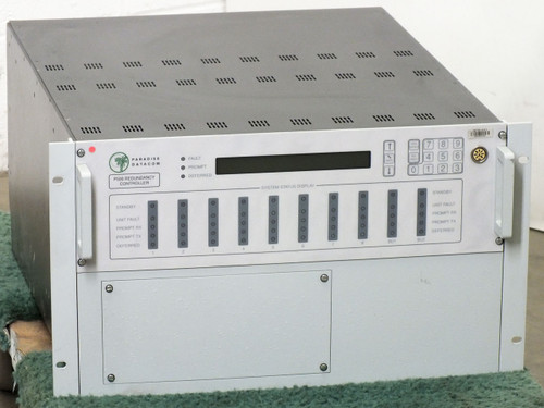 Paradise P500 Datacom 1-FOR-8 Redundancy Controller with P520 P550 P551 - As Is
