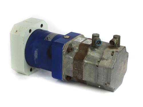 Siemens 1FK6080-6AF71-1TA0 Servo Motor with Alpha LP 155-M01-10 10:1 Gear Reducer
