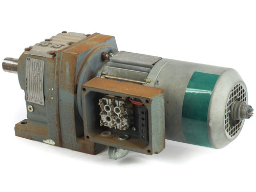 SEW-EURODRIVE R47DT71D4THXH1 230/460 VAC 1/2HP 3-PH Gear Motor with 85HP Gearbox