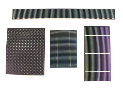Nanosolar Solar Cell Sample Pack! NanoSolar and SoloPower FLEXIBLE & Amorphous for DIY