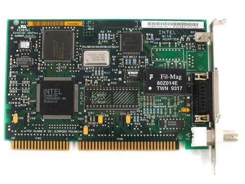 Intel 306450-011 16-Bit ISA EtherExpress 16 8/16 Lan Adapter Card with COAX