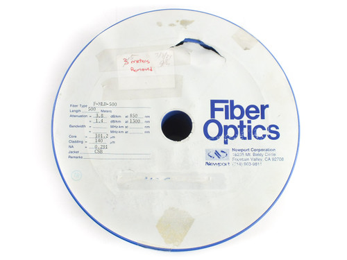 Newport F-MLD-500 Fiber Spool, Multimode, 100 μm Core, 140 μm Cladding