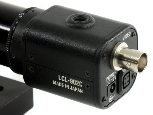 Watec LCL-902C Low Light B&W CCD Camera, Optical Lab long Lense, Thor Labs Mount