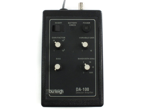 Burleigh DA-100 High-Sensitivity Amp Detector Amplifier