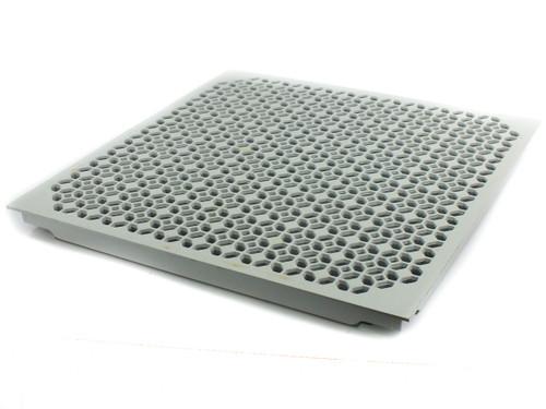 Tate GrateAire Vented Aluminum Raised Floor Tile 24-Inch w/ Slide Damper - USED
