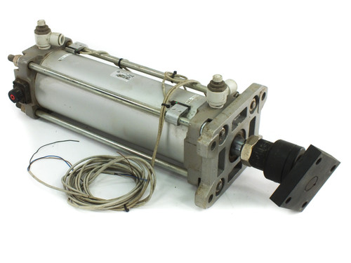 SMC CDBA2F100-250-HL-Y7NWL End Lock Pneumatic Cylinder with 250mm Linear Stroke